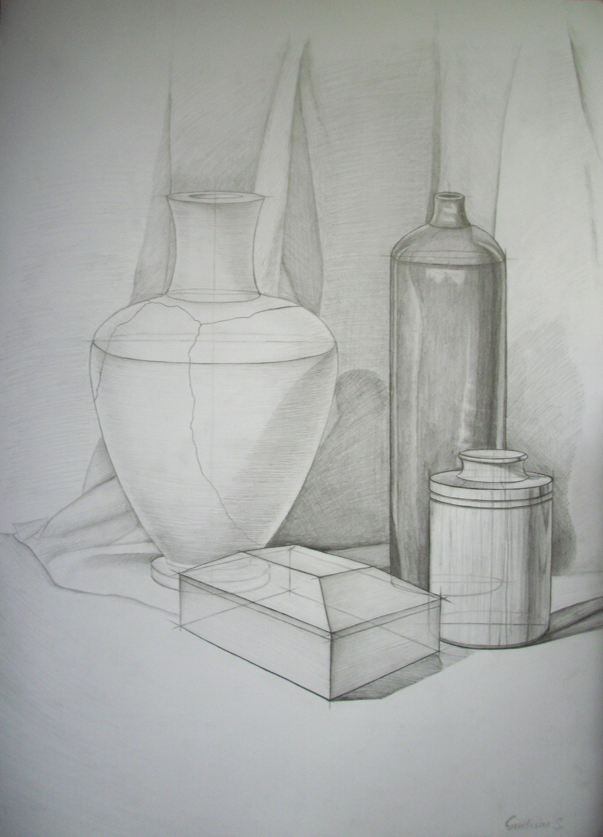 Išmokite piešti drapiruotę