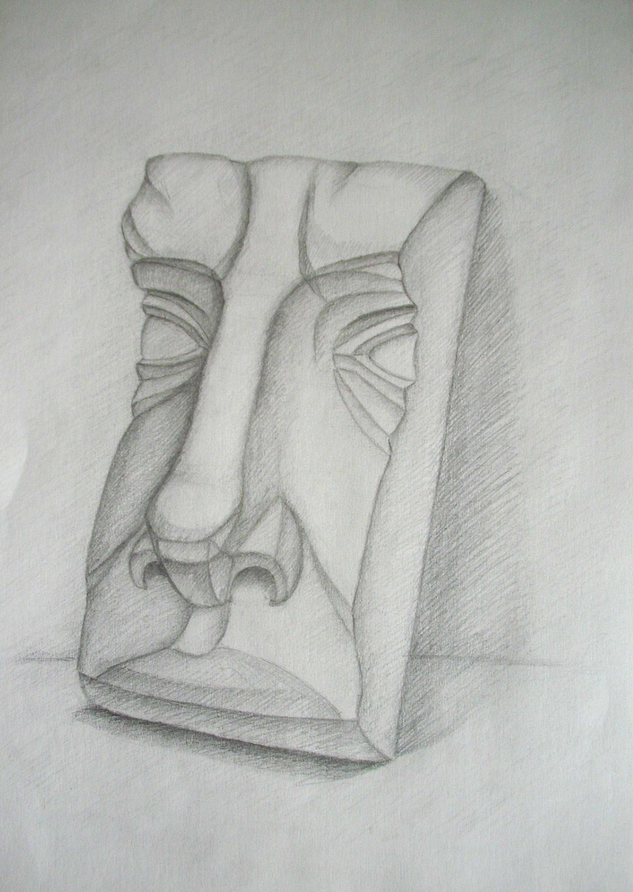 Vėliau įvairios architektūrinių portretų detalės(ruošiausi piešti galvas, bet akademinio piešimo egzamino reikalavimai buvo pakeisti)